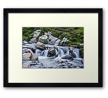 The Rushing Waters of Myrtle Falls Framed Print