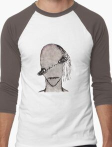 Vampire Monster Illustration Men's Baseball ¾ T-Shirt