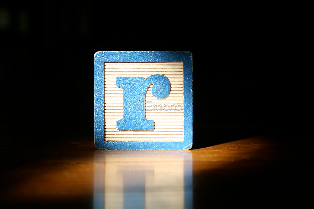 The Letter R by NEmens
