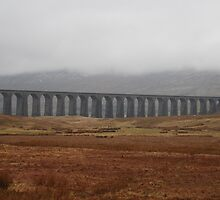 The Ribble-head viaduct by Mike Davitt