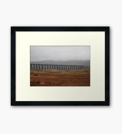 The Ribble-head viaduct Framed Print