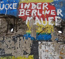 Berlin wall by windmill