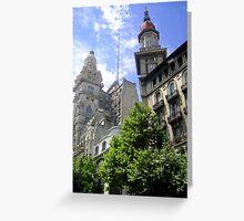 Plaza De Mayo Greeting Card