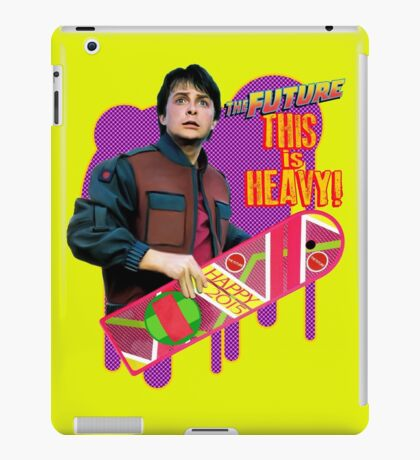 Happy 2015 - The Future, this is heavy iPad Case/Skin