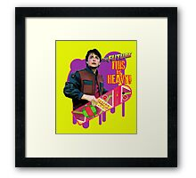 Happy 2015 - The Future, this is heavy Framed Print