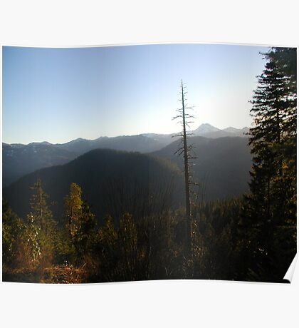 Majestic view Poster