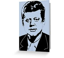 JFK-2 Greeting Card