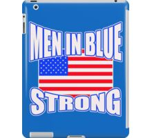 Men in blue iPad Case/Skin
