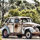 Old Car by Debra LINKEVICS