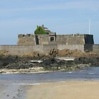 THE FORT, ST MALO, BRITTANY,FRANCE by Karo / Caroline Evans (Caux-Evans)