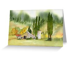 Countryside Beauty - NW Washington Greeting Card