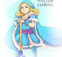 Dota 2  - Crystal Maiden Winter is coming by keterok