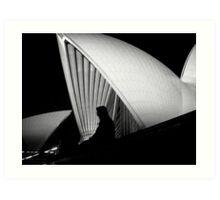 Shapes of Sydney Art Print