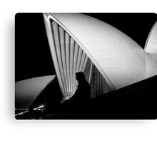 Shapes of Sydney Canvas Print
