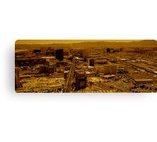 Vegas Heat Canvas Print