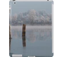 quiet misty morning on the river iPad Case/Skin