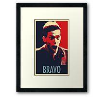 """Bravo!"" Framed Print"