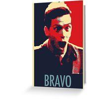 """Bravo!"" Greeting Card"
