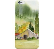 Countryside Beauty - NW Washington iPhone Case/Skin