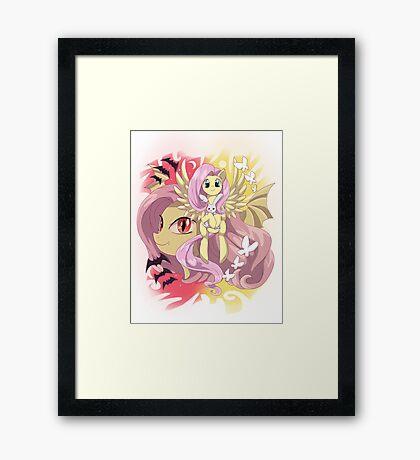 My little pony - Flutterbat Framed Print