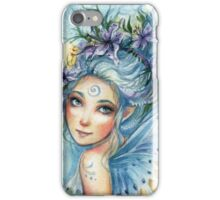 Lily Blue iPhone Case/Skin