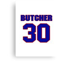 National baseball player Max Butcher jersey 30 Canvas Print
