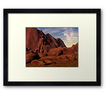 Earth and Air Framed Print