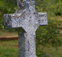 Weathered Cross by John Butler