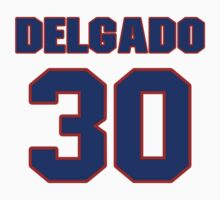 National baseball player Wilson Delgado jersey 30 by imsport