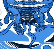 Naked Brunch | UFOART series | mono Sticker