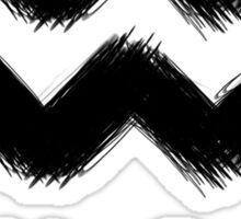 Aquarius (Black) Sticker