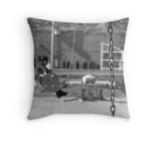 Vacant Swing Throw Pillow