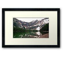 Avalanche Lake Framed Print