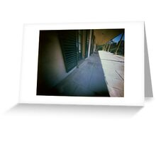 "Pinhole Polaroid - ""Experimental Farm"" Greeting Card"