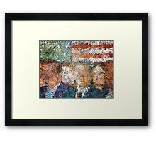 Patriots Gathering Framed Print