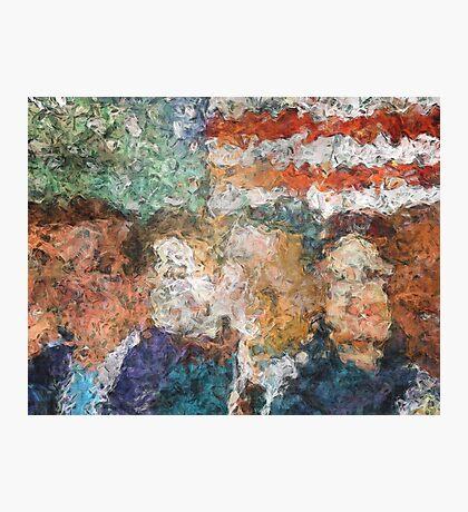 Patriots Gathering Photographic Print
