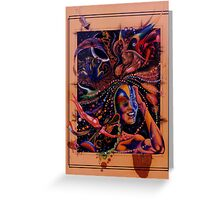 Night Dreams Greeting Card