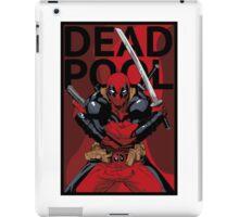 Deadpool - Pose - color iPad Case/Skin