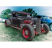 Winged Truck Photographic Print