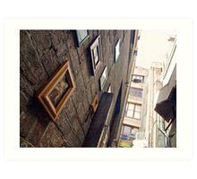Laneway Art Print