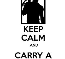 Keep Calm and Carry a Crossbow by mymainmandeebo