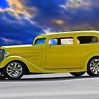 1935 Chevrolet Sedan 'Lemon Drop Kid' by DaveKoontz