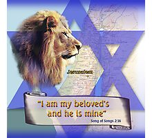 I am my beloved's and he is mine Photographic Print