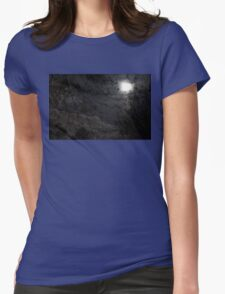 Mystery Moon Womens Fitted T-Shirt