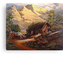 Hardtack Homestead Canvas Print