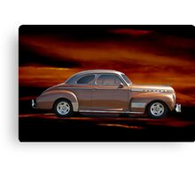 1941 Chevrolet 'Special Deluxe' Coupe Canvas Print