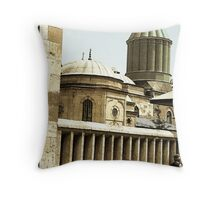 Konya mosque Throw Pillow