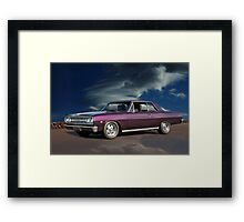 1965 Chevelle Malibu 'Early Muscle' SS Framed Print