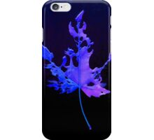 Somebody had Leaf for Lunch – Blue iPhone Case/Skin