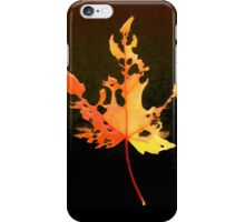 Somebody had Leaf for Lunch – Fire iPhone Case/Skin